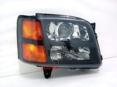 【UCC車趴】SUZUKI 鈴木 SOLIO NIPPY (魚眼)投射 黑框大燈 (DEPO製) 一顆2000