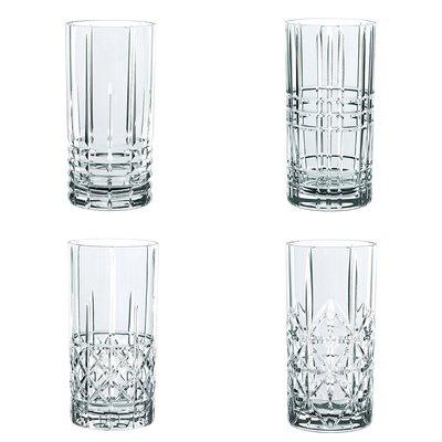 德國 Nachtmann 375ml*4入 威士忌水晶杯 無鉛水晶杯 高地威士忌杯 雞尾酒杯 高球杯 #97784