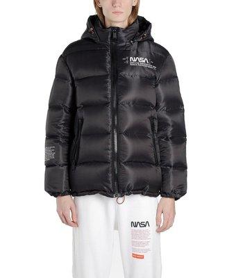『Jewel Apparel』HERON PRESTON x NASA 聯名款 LOGO 黑色 羽絨外套
