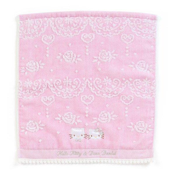 代購現貨 日本三麗鷗Hello Kitty&Diar Daniel婚禮系列 大方巾