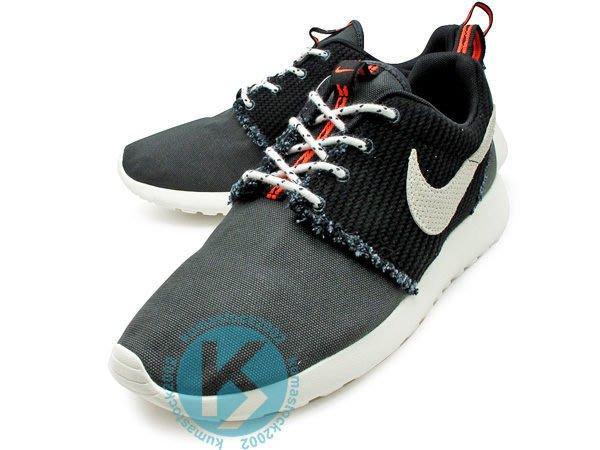 2013 NSW 平價走路休閒鞋 NIKE ROSHERUN CANVAS 黑牛仔 帆布 丹寧 580564-096