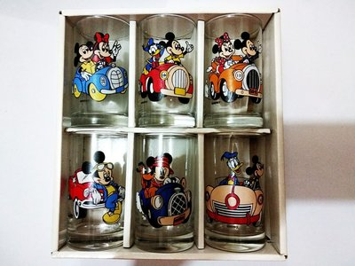 6 piece Mickey mouse, Donald duck cup六隻米奇,唐老鴨杯,
