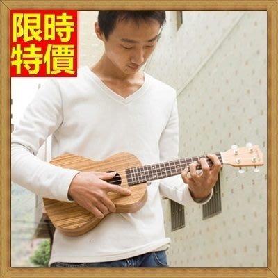 烏克麗麗 ukulele-26吋斑馬木合板夏威夷吉他四弦琴樂器3款69x23[獨家進口][米蘭精品]