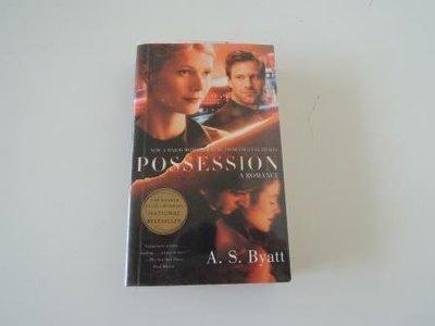 自藏書~無可救藥愛上你英文原文書*Possession a Romance*A. S. Byatt著~書況佳!!