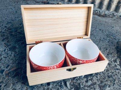 竹藝坊-客製禮品木盒/木製盒子/結婚禮物/伴娘禮/客製化禮品/喜碗
