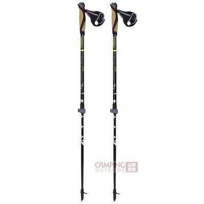 【山野賣客】義大利MASTERS Training Speed二節式健行杖 MA01N0516 鋁合金登山杖 手杖 拐杖