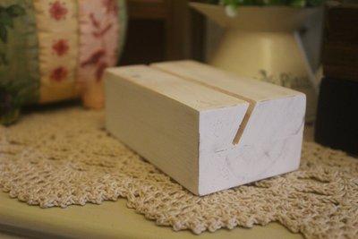 zakka糖果臘腸鄉村雜貨坊      木作類..oblique名片座/留言夾(積木方塊角落屏風衣架早午餐IKEA全手工