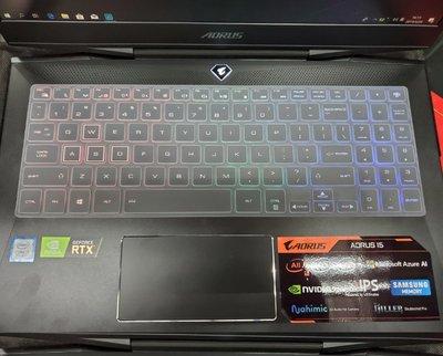 ☆蝶飛☆ 技嘉 GIGABYTE AORUS15 15.6吋筆電鍵盤保護膜 Aorus 15 鍵盤膜