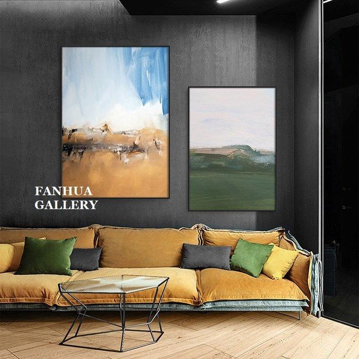 C - R - A - Z - Y - T - O - W - N 簡約抽象油畫風格掛畫客廳畫玄關實品屋接待室掛畫精品旅館飯店工作室美學空間設計師鋁合金框畫