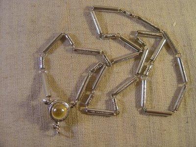 ~如是N863~白鋼+龍珠佛牌鏈