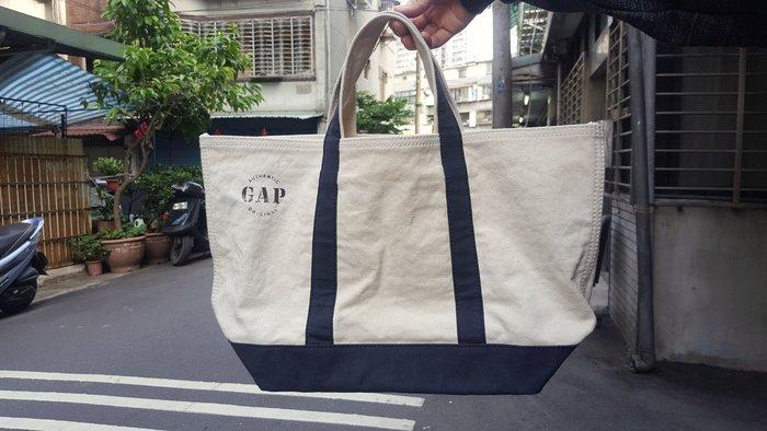 GAP 托特包 手提包 手拿包 美式經典帆布大托特包 帆布包 媽媽包 行李包 購物袋 收納包