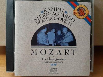 Rampal,Stern,Accardo,Rostropovich,Mozart-The Flute quartets朗帕爾長笛,與史坦等人,莫扎特-長笛四重奏