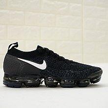 D-BOX Nike Air VaporMax Flyknit 2.0 W 黑色 白勾 編織 全掌氣墊 慢跑鞋 男鞋