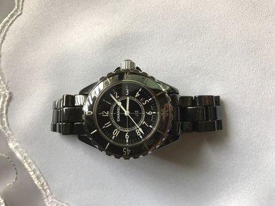 Chanel J12 香奈兒黑色 陶瓷表