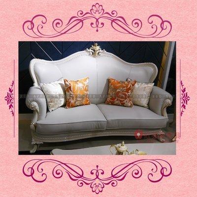 [紅蘋果傢俱] CT-011 新古典系列1+2+3沙發椅 歐式沙發 新古典沙發 高檔 法式 奢華 實木沙發 皮沙發