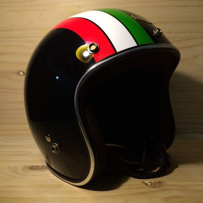 (I LOVE樂多)Air runner彩繪安全帽(黑)義大利配色 喜歡BELL BUCO SHM可參考