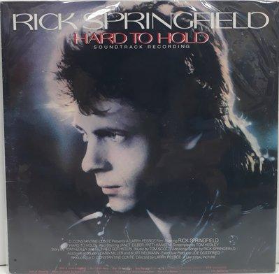 RICK SPRINGFIELD HARD TO HOLD 黑膠 | 再生工場 03