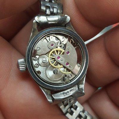 機械錶<搖一搖不走>女錶 手上鏈 非 OMEGA ROLEX SEIKO MK IWC CK 三眼錶 A04