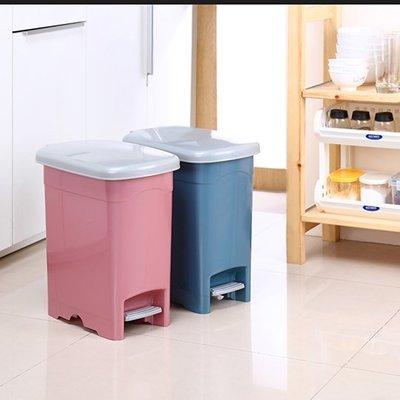 315百貨~衛生美觀~LO020 年代20L長型垃圾桶 / 腳踏掀蓋 衛生不沾手 紙林 回收桶 廚餘桶 分類桶