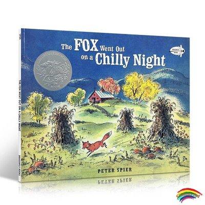 英文原版 The Fox Went Out on a Chilly Night: An Old Song 狐貍夜游記 凱