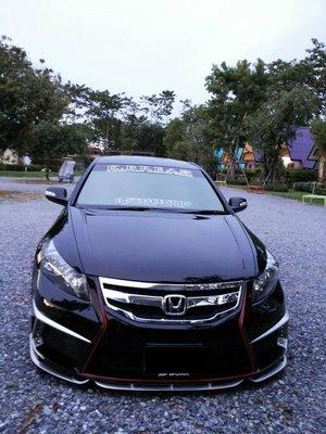 法克斯 Honda Accord 客制化泰版前保!..各車系皆可手工改上