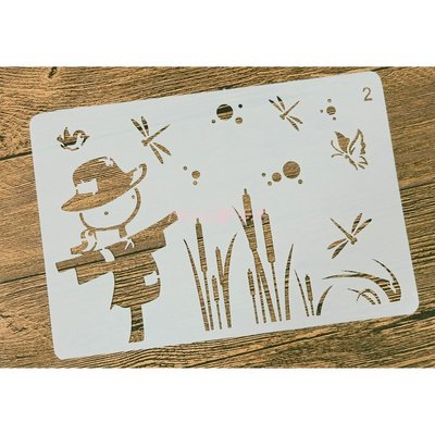 IST-3035型染板~蝶古巴特 拼貼 餐巾紙 彩繪 黏土 DIY 美勞 安親班 手作 材料