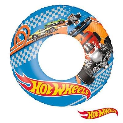 金潮派-Hot Wheels。22吋風火輪汽車充氣泳圈(69-34359)