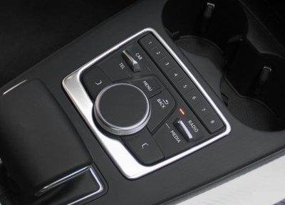 ~╮~奧迪 16~18年式A4 A5 Q5 B9 sedan avant 中控MMI鍍鉻飾板~╭~