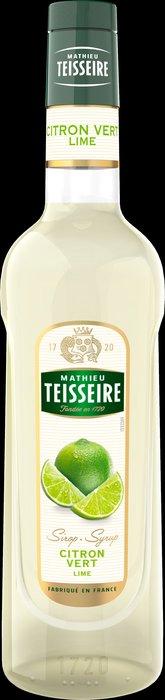 Teisseire 糖漿果露-萊姆風味 Lime Syrup 法國頂級天然糖漿 700ml-【良鎂咖啡精品館】