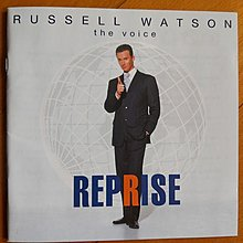 Russell Watson The Voice 英版CD無花98%新 (Queen)Bohemian Rhapsody/That's Amore