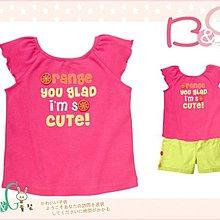 【B& G童裝】正品美國進口GYMBOREE荷邊袖粉紅色背心上衣2yrs