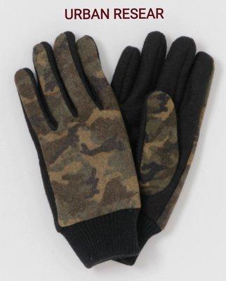 【 柒玖捌零日貨精品 】超質感 日本最新帶回 全新正品 URBAN RESEARCH 羊毛迷彩手套