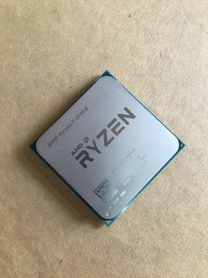 AM4 AMD R7 Ryzen 7 2700X CPU 無內顯