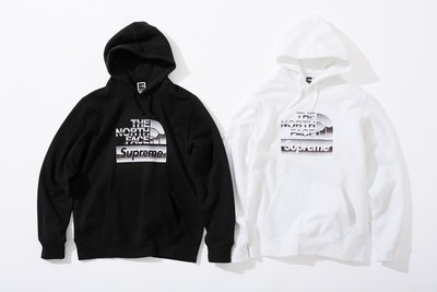☆LimeLight☆ Supreme x The North Face Metallic Hooded 帽TEE 北臉
