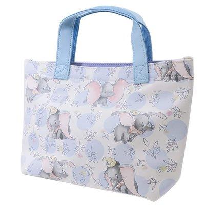 迪士尼Disney《現貨》Dumbo 小飛象 經典再現 皮質手提包 便當提袋 托特包~日本正品~心心小舖