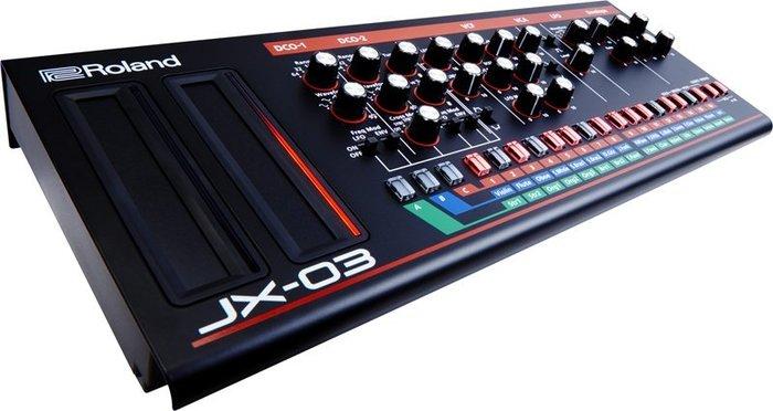 造韻樂器音響- JU-MUSIC - 全新 Roland Boutique 系列 JX-03 合成器 音源機