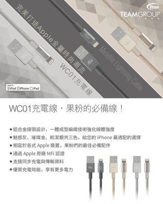 【小樺資訊】開發票 十銓 WC01蘋果認證金屬編織高質感傳輸充電線保固一年