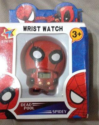全新蜘蛛人手錶wrist watch