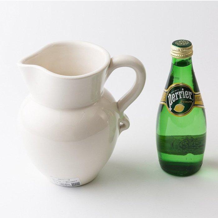 〖洋碼頭〗瑞典原產Gerbera茶壺水帶柄油壺陶土壺奶壺帶柄水壺咖啡壺 L2884