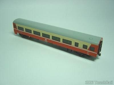 【專業火車模型】缺貨了。 鐵支路 NK3505 莒光號客車廂35SP32950(現役塗裝)