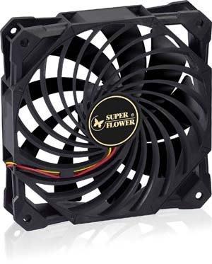 【捷修電腦。士林】振華 SF-F102BK 冰渦輪 12公分風扇 九葉扇 SF-F102 超強風流量 機殼風扇 散熱扇