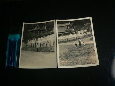 古玩軒~相片.老照片.黑白照片.早期國賓大飯店.早期還是古色古香的建築.兩張一標.YG716