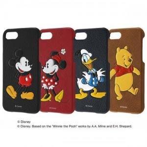 尼德斯Nydus 日本正版 迪士尼 硬殼皮套 手機殼 保護殼 米奇 米妮 唐老鴨 小熊維尼 4.7吋 iPhone7