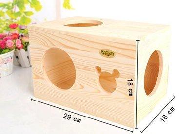 【監獄寵物館】LEOSTAR加大型木製小木屋