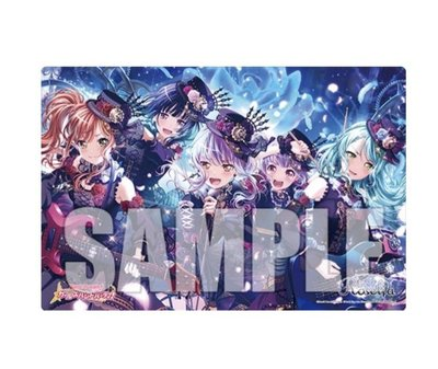 全新 BanG Dream 限定 playmat Roselia bangdream
