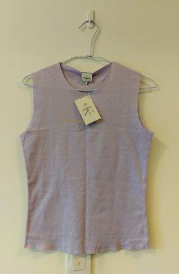 全新正品Calvin Klein CK淺紫色無袖T shirt-購於美國-吊牌還在