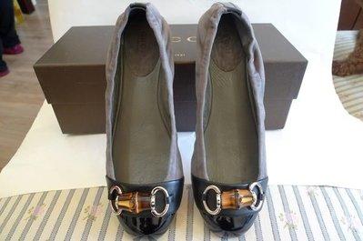 全新  Gucci   經典竹節 鞋  36.5&37號 現貨 優惠價