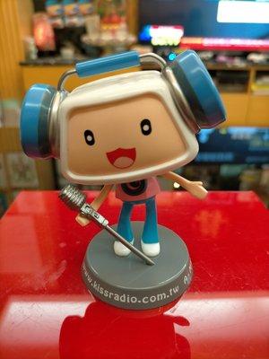 普普風KISS RADIO電台企業寶寶公仔.老玩具,大同寶寶,老車,偉士牌,老東西,水水,型男,vintage參考
