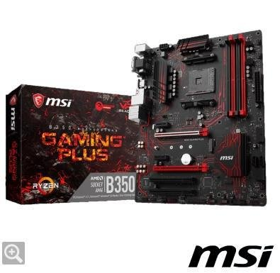(全新)MSI微星 B350 GAMING PLUS 主機板