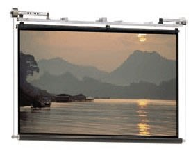 【新莊力笙音響】DA-LITE電動銀幕(蓆白) 420吋(4:3) MSR 28 'x28 '(來店享驚喜價)